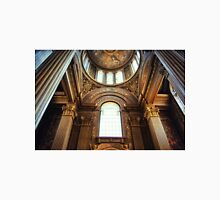 Imposing interior of a church with great light. Unisex T-Shirt