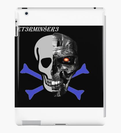 The T3rmin8er3 Channel Design iPad Case/Skin