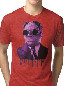The Invisible Man Drip Art Tri-blend T-Shirt