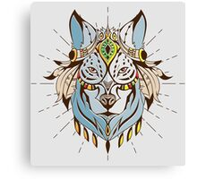 Wolf Chief Canvas Print