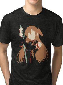 Asuna minimalist (Black version) Tri-blend T-Shirt