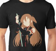 Asuna minimalist (Black version) Unisex T-Shirt