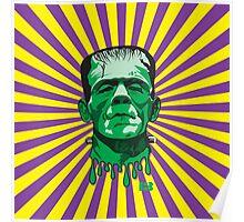 Classic Frankenstein's Monster Print Poster