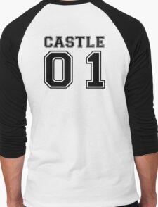 Castle 01 - Varsity Style Men's Baseball ¾ T-Shirt