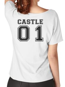 Castle 01 - Varsity Style Women's Relaxed Fit T-Shirt