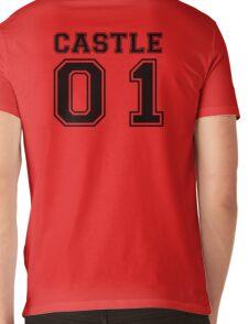 Castle 01 - Varsity Style Mens V-Neck T-Shirt