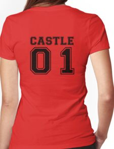 Castle 01 - Varsity Style Womens Fitted T-Shirt