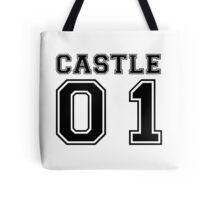 Castle 01 - Varsity Style Tote Bag