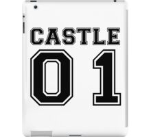 Castle 01 - Varsity Style iPad Case/Skin