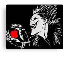 Weakness of Ryuk - Parody Canvas Print
