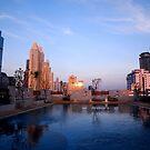 Sunrise in Thailand by Gail Fletcher