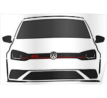 VW Polo GTI Half Cut Poster