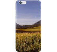 Plateau in Alps iPhone Case/Skin