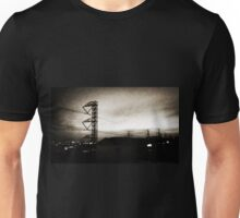An industrial sunrise Unisex T-Shirt