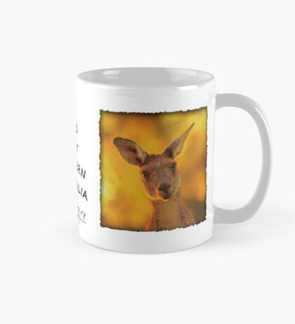 Kangaroo - MAD About Western Australia Mug