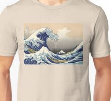 The Great Wave off Kanagawa Unisex T-Shirt