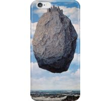 The Castle of the Pyrenees - Magritte iPhone Case/Skin