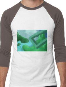Landscape mini1 Men's Baseball ¾ T-Shirt