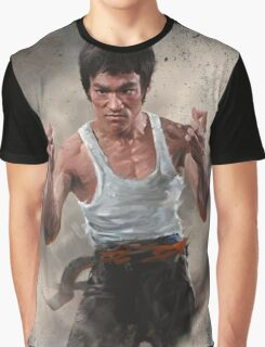 VINTAGE POSTER : KUNG FU Graphic T-Shirt