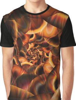 Fractal Tunnel Graphic T-Shirt