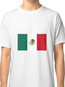 Mexico Flag  Classic T-Shirt