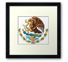 Mexico Coat of Arms  Framed Print