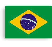 Brazil Flag  Canvas Print