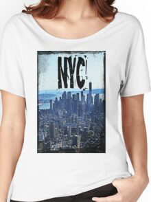 new york city, empire state building Women's Relaxed Fit T-Shirt