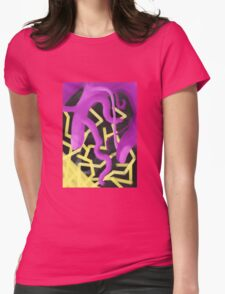 Hand of famous person Womens Fitted T-Shirt