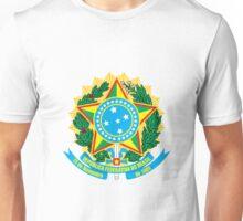 Brazil Coat of Arms  Unisex T-Shirt