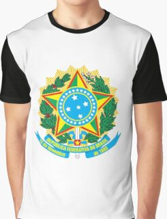 Brazil Coat of Arms  Graphic T-Shirt