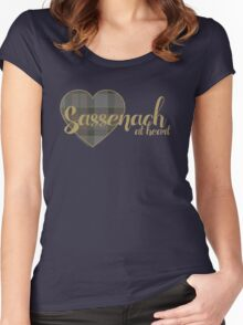 Sassenach at Heart Women's Fitted Scoop T-Shirt