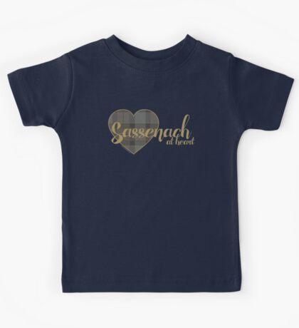 Sassenach at Heart Kids Tee