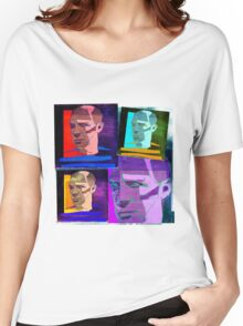 PABLO PICASSO COLLAGE - SPANISH CUBIST PAINTER Women's Relaxed Fit T-Shirt