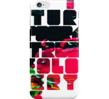 In The Future Typography Trumps Ideology Everytime iPhone Case/Skin