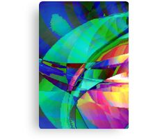 Scattered Colours Canvas Print
