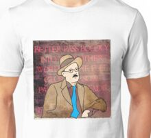 JAMES JOYCE, IRISH POET Unisex T-Shirt