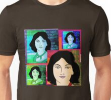 EMILY BRONTE COLLAGE, AUTHOR OF WUTHERING HEIGHTS Unisex T-Shirt