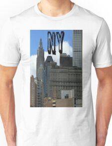new york city of dreams usa empire state building Unisex T-Shirt
