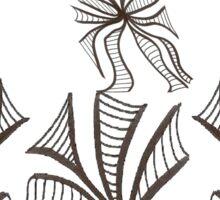Florals & Fluttery Sticker