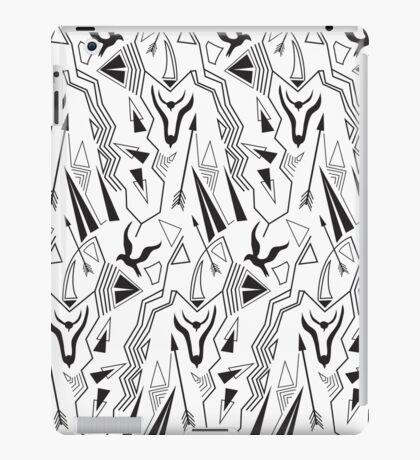 Tribal abstract antique minimal seamless pattern iPad Case/Skin