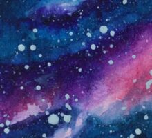 Purple Galaxy Sticker