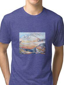 Sandstone Landscape Tri-blend T-Shirt