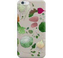 Winter Vegetables iPhone Case/Skin