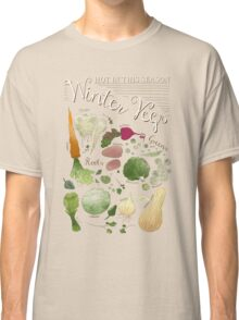 Winter Vegetables Classic T-Shirt