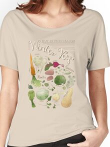 Winter Vegetables Women's Relaxed Fit T-Shirt