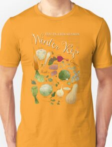 Winter Vegetables Unisex T-Shirt