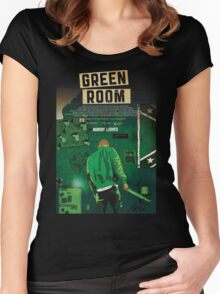 Green Room The Movie 2016 Women's Fitted Scoop T-Shirt