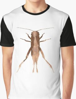 Insect Jumper Texture Outline Graphic T-Shirt