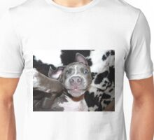 Silly, Baby, Blue Pit Bull Puppy Dog  Unisex T-Shirt